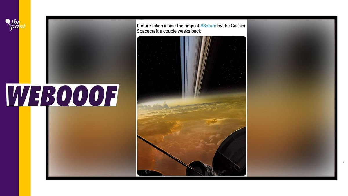 """<div class=""""paragraphs""""><p>The viral image claims that it is the closest image of Saturn's rings.&nbsp;</p></div>"""