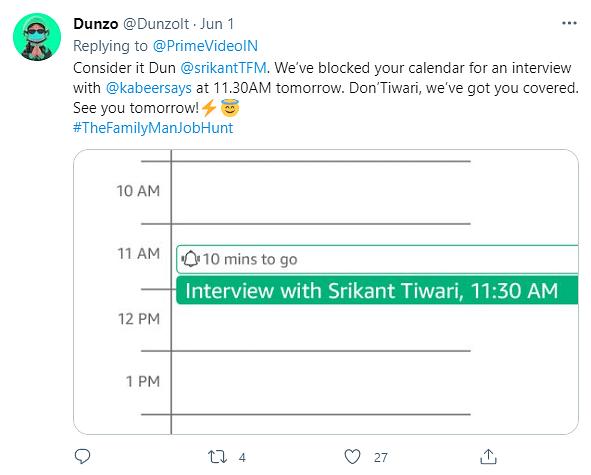 The Family Man Srikant Tiwari's new 'TASC'- Job Hunting!