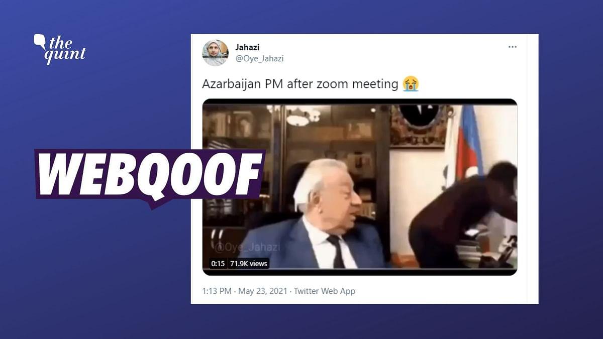 "<div class=""paragraphs""><p>The video shows Huseynbala Mirelemov, former MP of Azerbaijan.</p></div>"