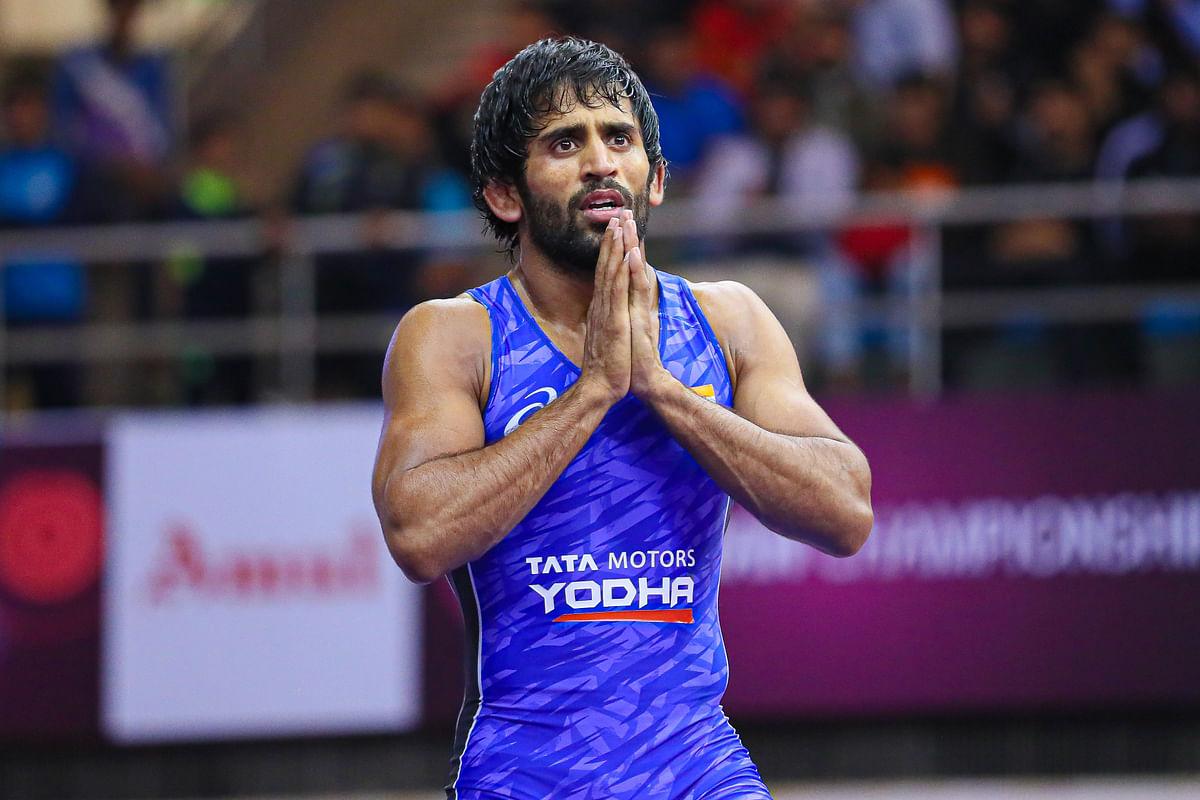 Bajrang Punia is the current world number one in the 65-kg category event.