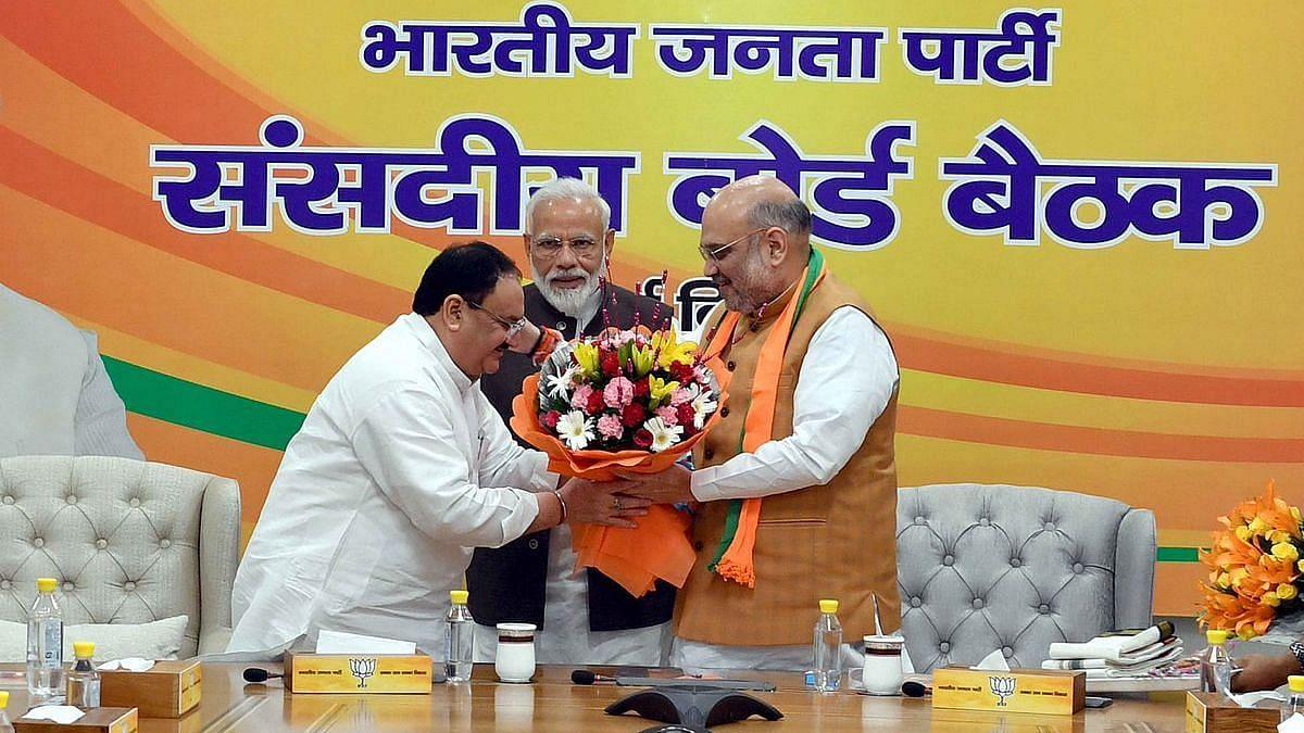 PM Modi Meets Amit Shah, JP Nadda Amid Buzz Over Cabinet Reshuffle