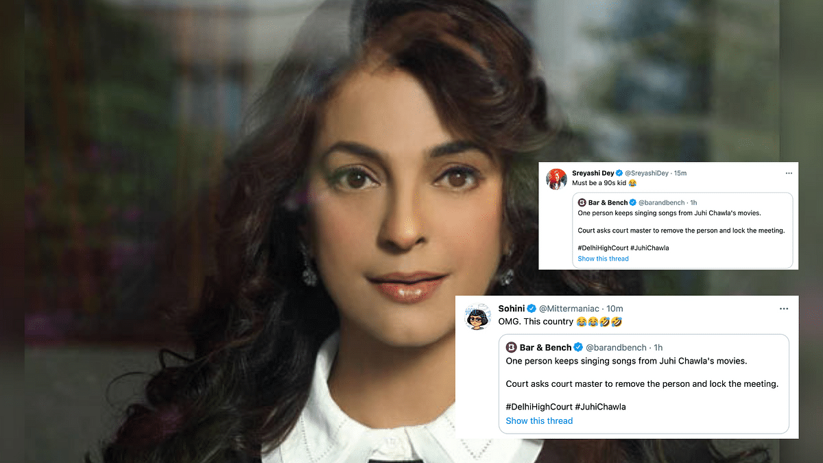 """<div class=""""paragraphs""""><p>This Man Singing in Juhi Chawla's 5G Hearing Has Twitter in Splits</p></div>"""