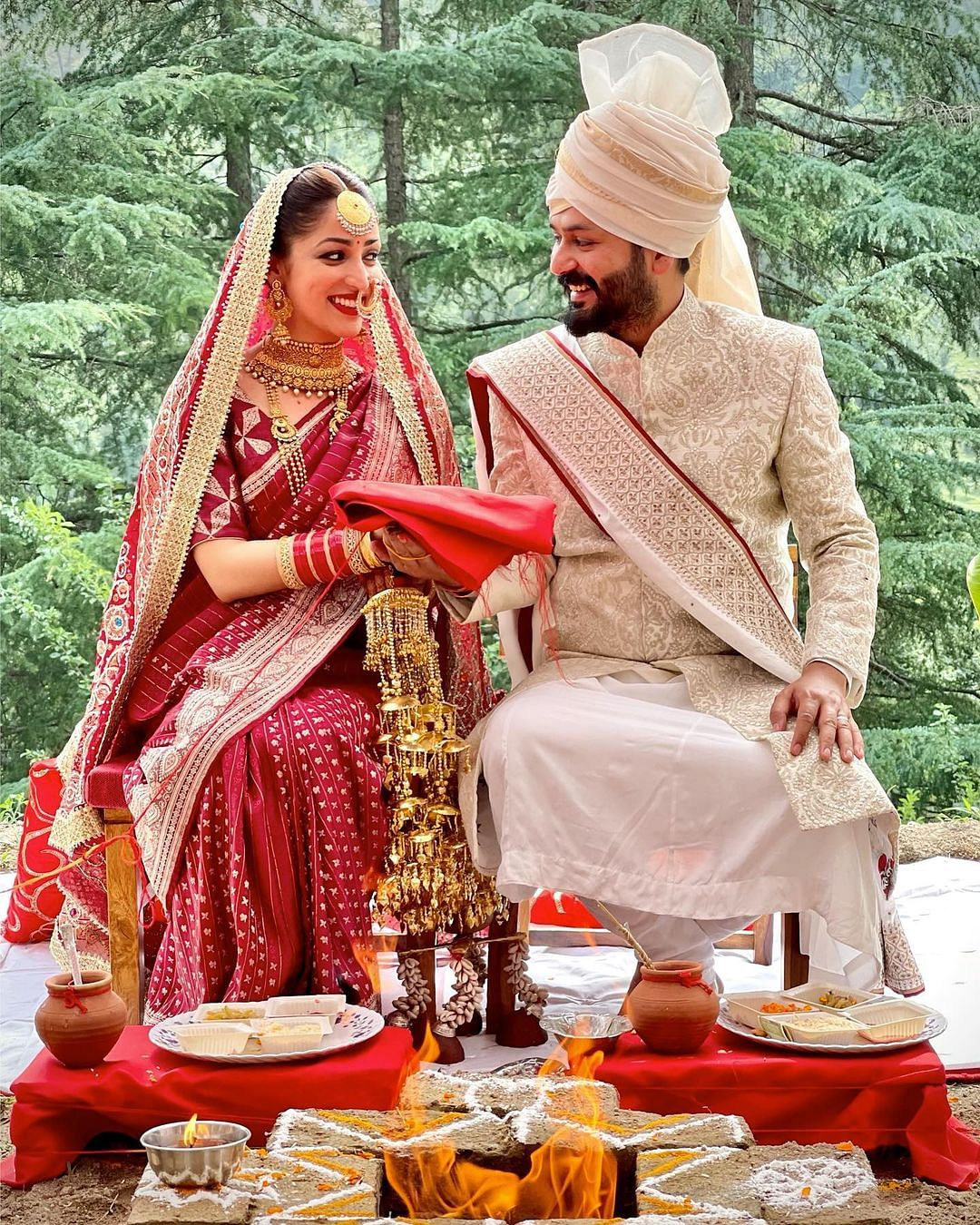 """<div class=""""paragraphs""""><p>Yami Gautam and Aditya Dhar tied the knot on 4 June.&nbsp;</p></div>"""