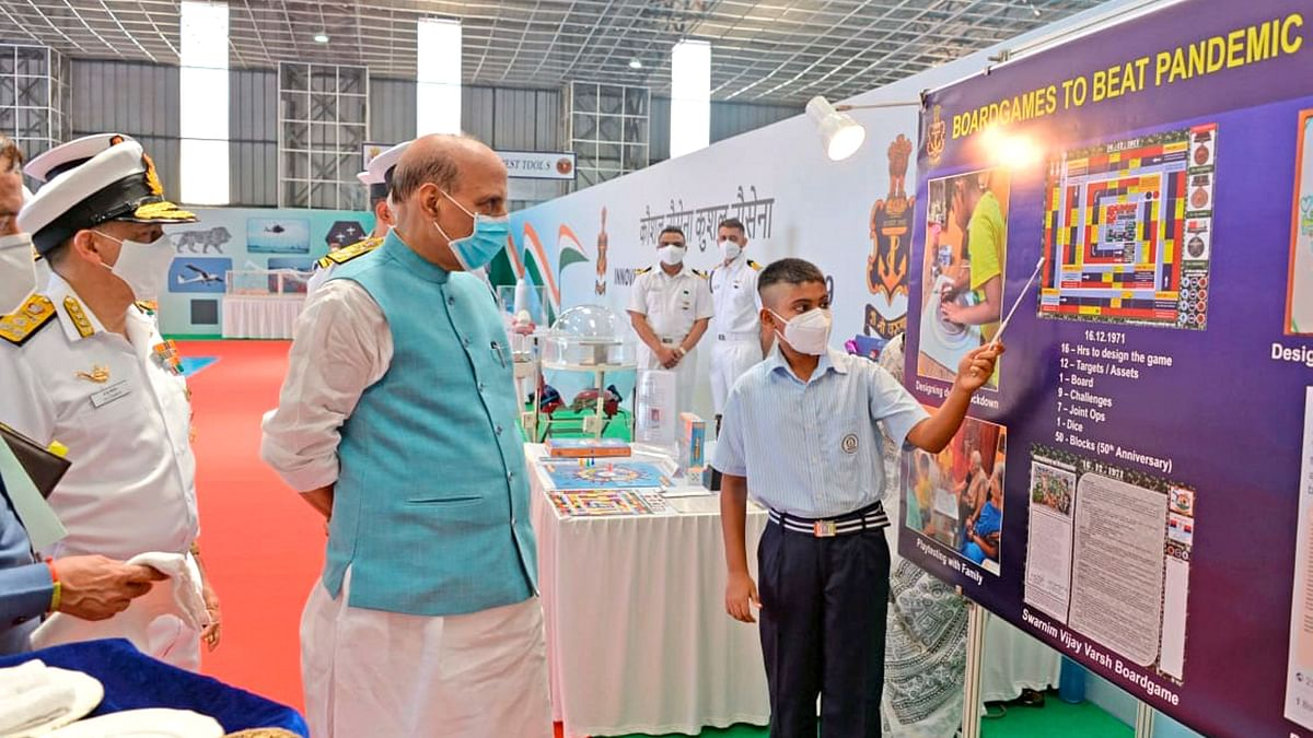Navy Showed in Galwan That We Are Ready: Rajnath Singh at Kochi