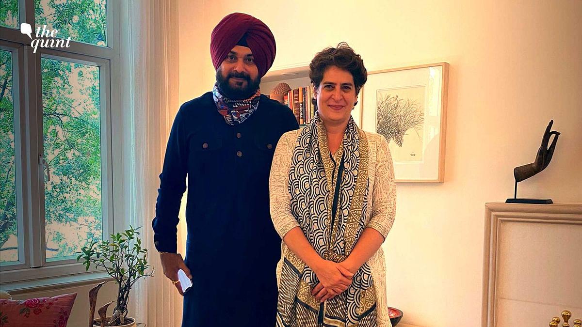 Is Sidhu's Meeting With Priyanka & Rahul End of Punjab Cong Row?