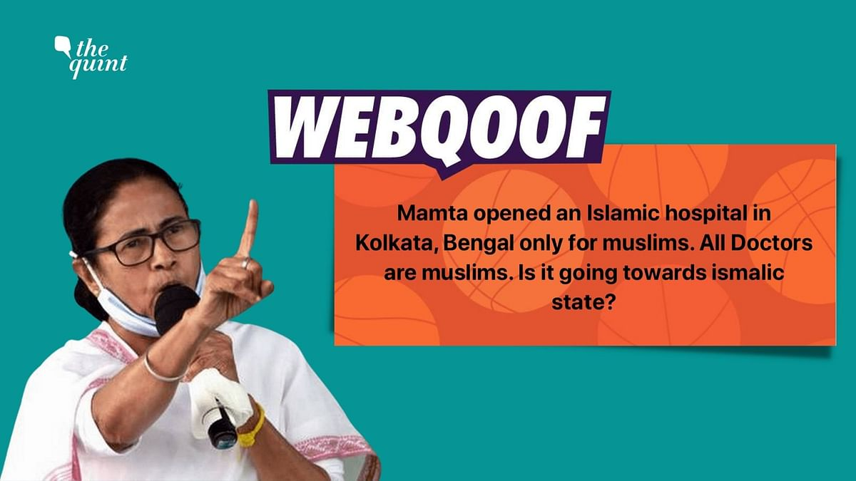 Social media users falsely claimed that Islamia Hospital in Kolkata was only admitting Muslim patients and doctors of a particular religion worked there.