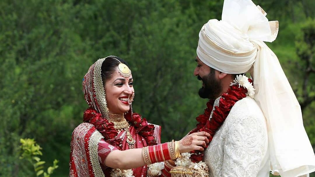 A Peek Into Yami Gautam & Aditya Dhar's Eco-Friendly Wedding