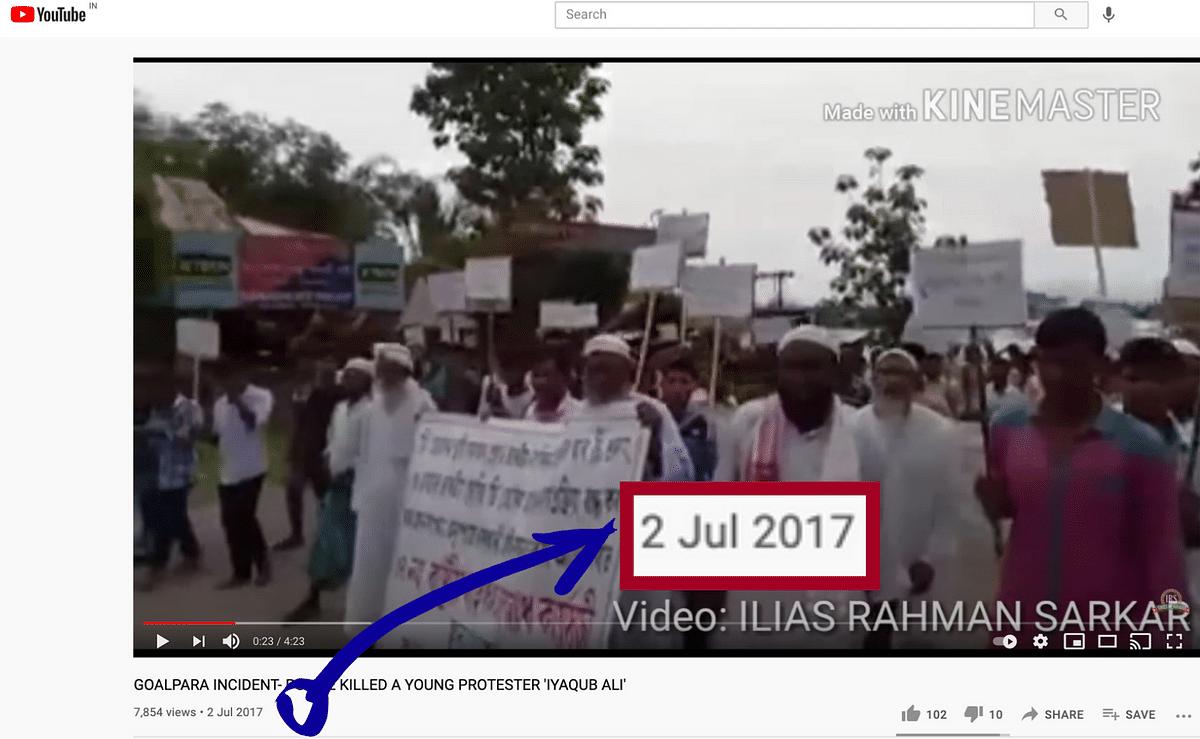 Video of 'Bangladeshi Muslims'  Demanding a Separate State? Nope!