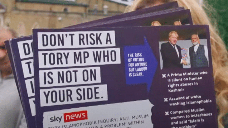 UK Labour Party Faces Flak for Using Modi's Image in Poll Leaflet