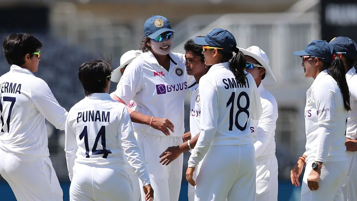 The Indian women's cricket team held England to a draw in the one-off Test at Bristol.