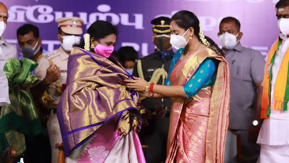 Puducherry Cabinet: 2 BJP, 3 NR Congress Ministers Take Oath