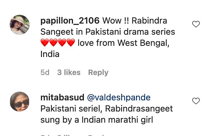 Pakistani Show Dil Kya Kare Uses Rabindra Sangeet, Videos Go Viral