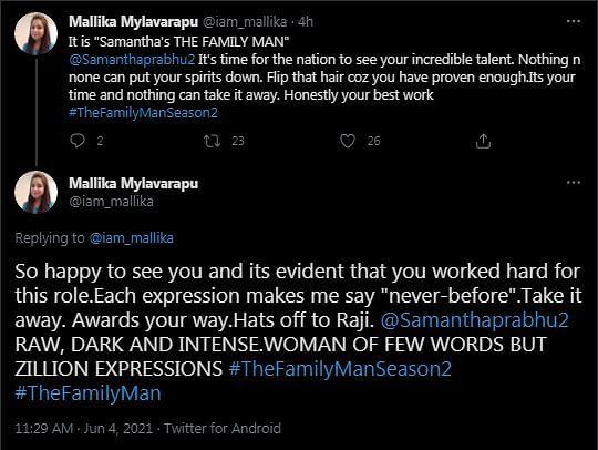 The Family Man 2 Reactions: Samantha Akkineni Is the 'MVP'
