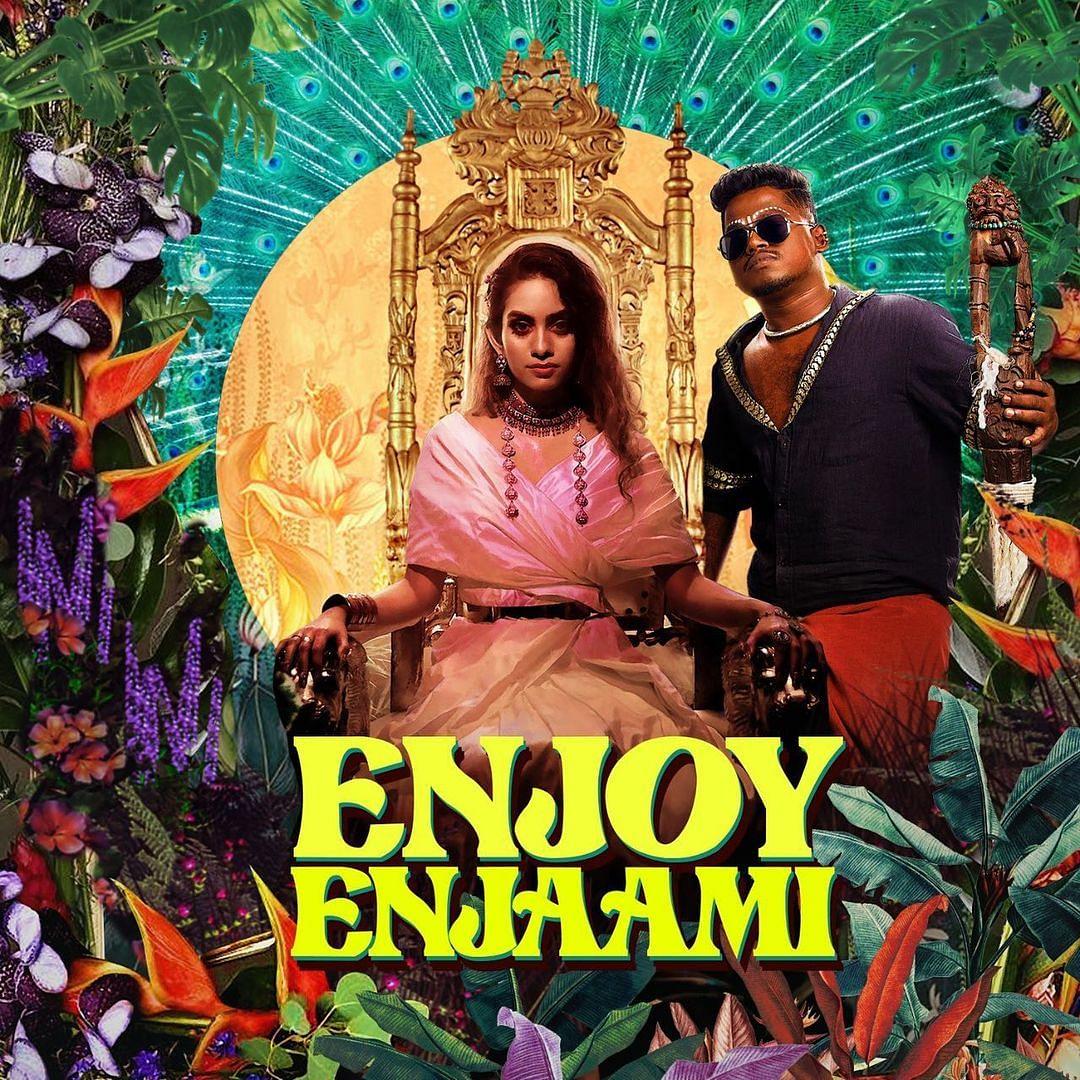 "<div class=""paragraphs""><p>'Enjoy Enjaami' song cover.</p></div>"