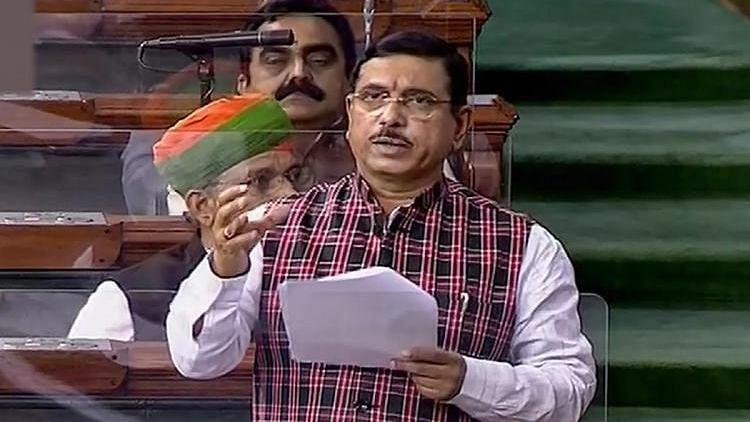 "<div class=""paragraphs""><p>File image of Union Minister of Coal Pralhad Joshi.</p></div>"