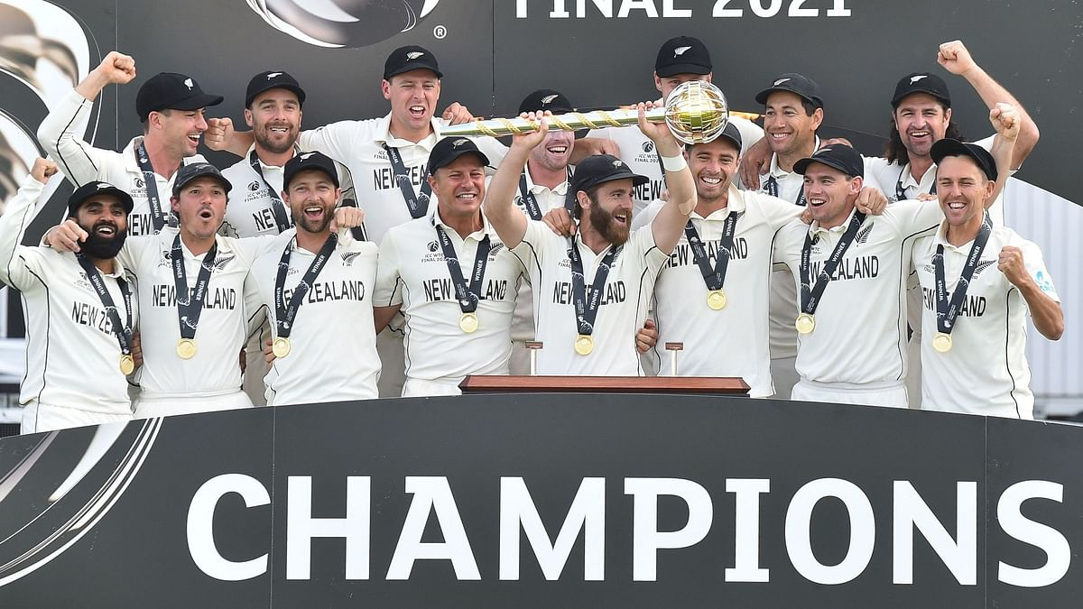 New Zealand beat India to win the World Test Championship, their first ICC title in 21 years.