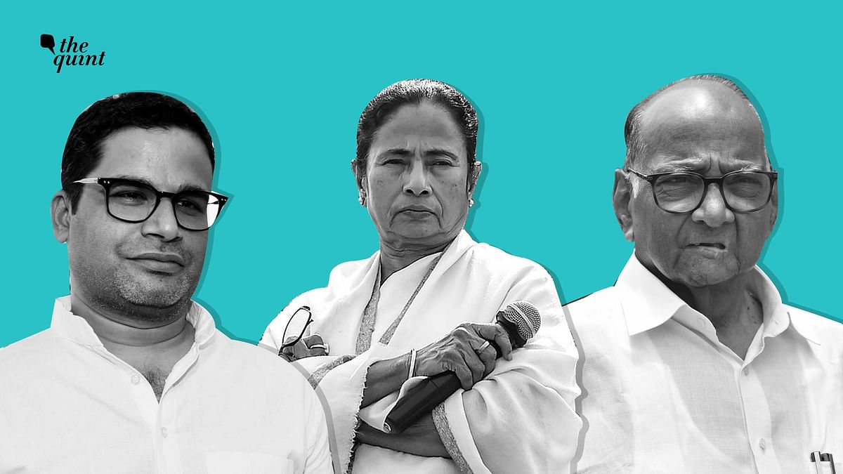 Pawar, Mamata & PK Have a Message for Cong, It's Not a Third Front
