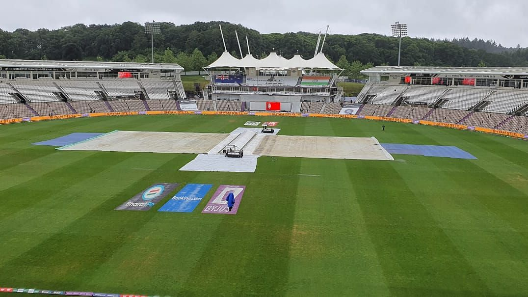 Day 1 of the WTC Final between India and New Zealand has been washed out due to rain.