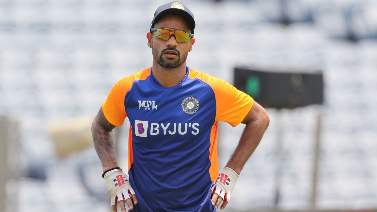 """<div class=""""paragraphs""""><p>Shikhar Dhawan has been left out of the World Cup squad.</p></div>"""