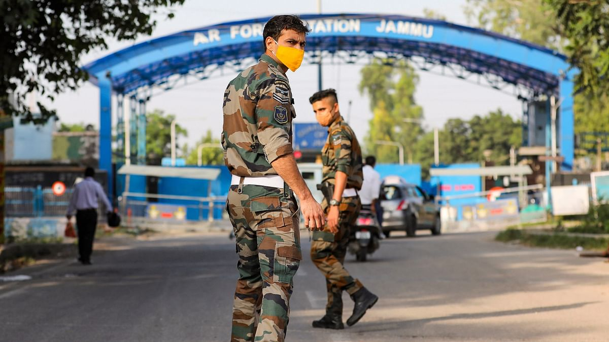 Two Low-Intensity Blasts Rock IAF Station, Drone Usage Likely