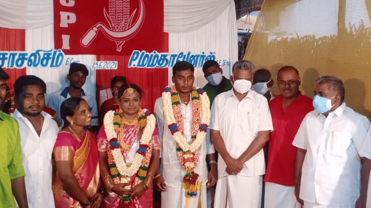 "<div class=""paragraphs""><p>P Mamata Banerjee Weds AM Socialism in Tamil Nadu</p></div>"