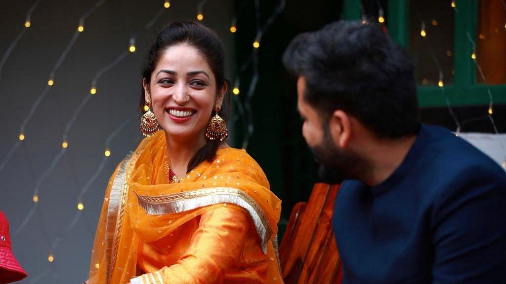 In Pics: Yami Gautam and Aditya Dhar Look Radiant At Their Wedding