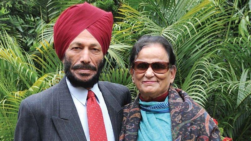 Sprinting stalwart Milkha Singh with his wife, Nirmal Kaur.