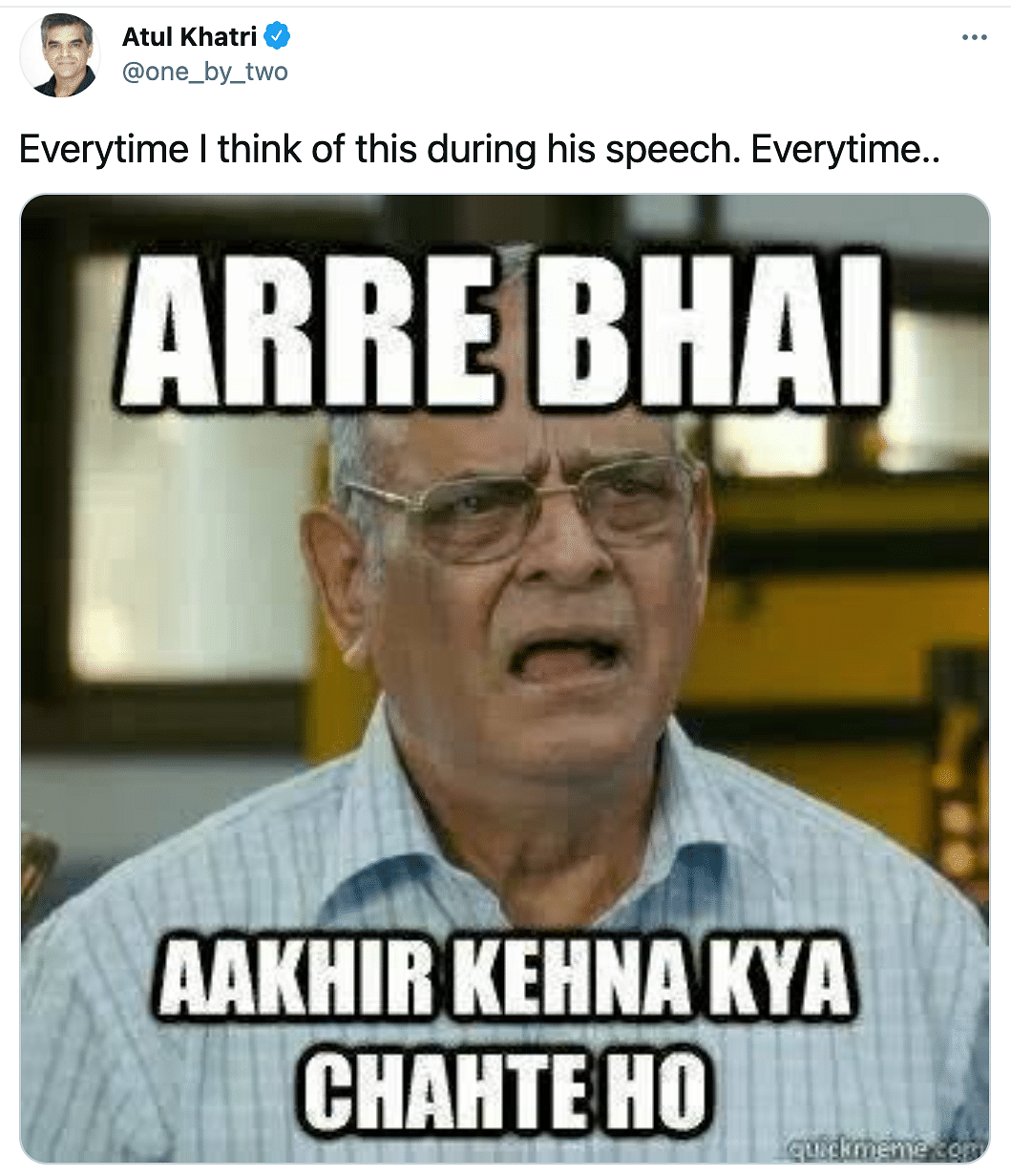 Here's How Netizens Reacted to PM Modi's Address to the Nation