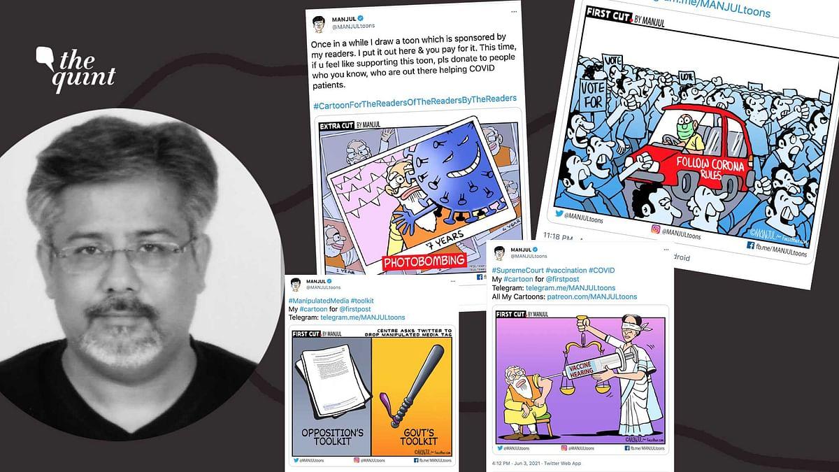 'Dictatorship': Centre Slammed for Seeking Action on Cartoonist