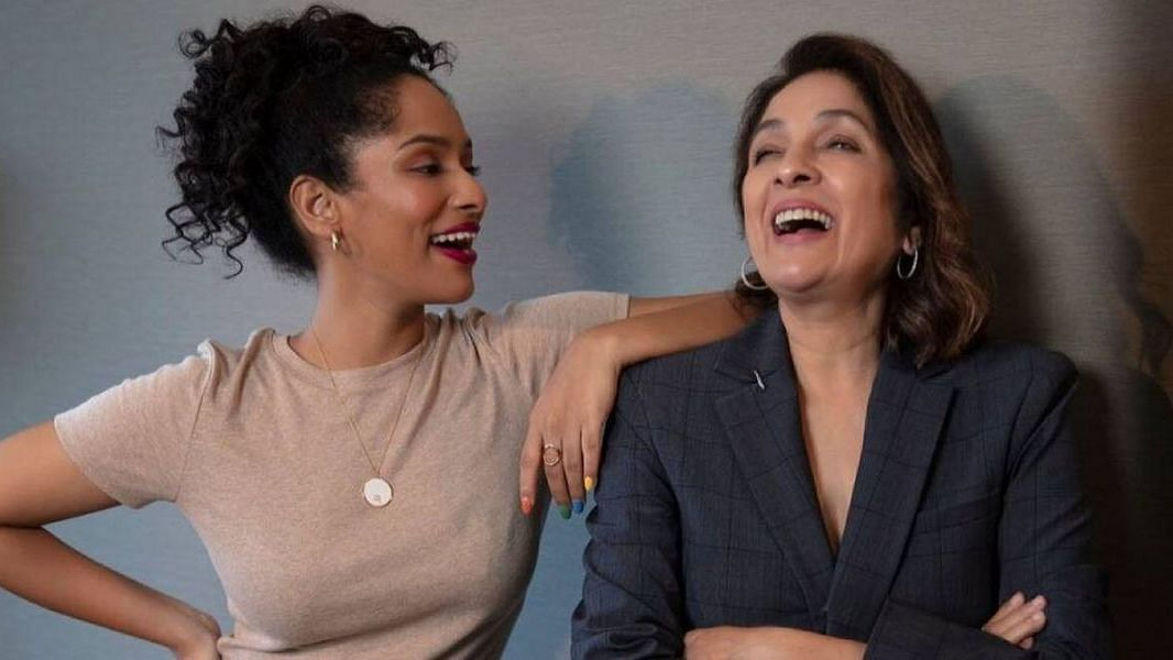 "<div class=""paragraphs""><p>Masaba Gupta with mother Neena Gupta.</p></div>"