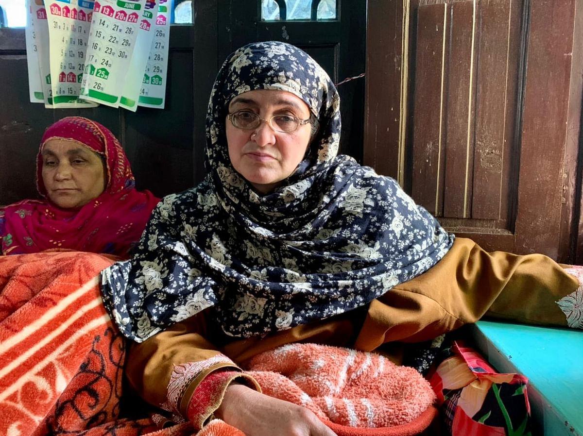 Shoaib's mother Jamila.