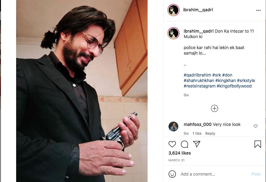 Shah Rukh Khan's Lookalike Ibrahim Qadri Takes Internet by Storm