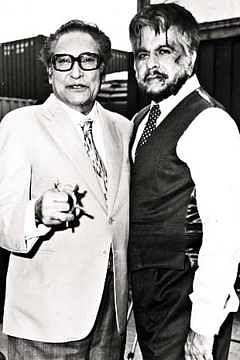 "<div class=""paragraphs""><p>Dilip Kumar with Ashok Kumar.</p></div>"