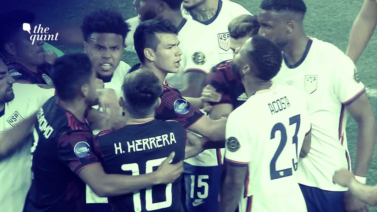 Watch: Players Come to Blows in Heated US-Mexico Final