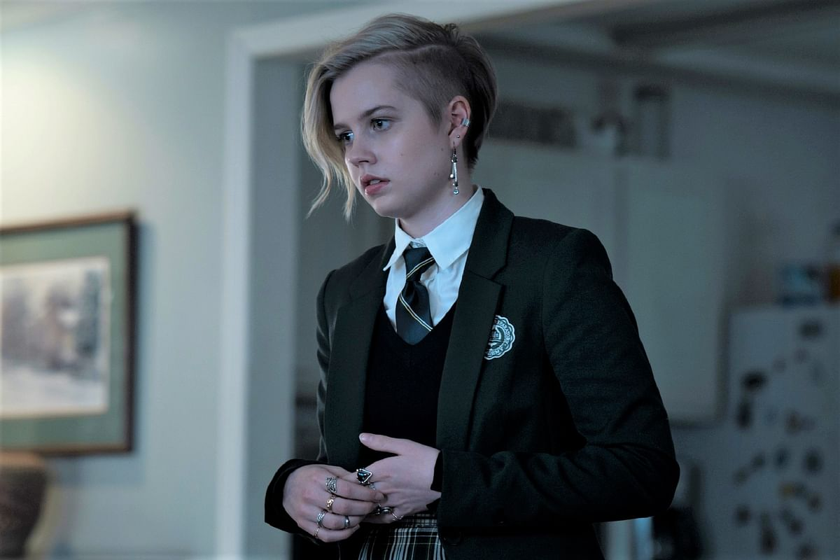 """<div class=""""paragraphs""""><p>Angourie Rice in a still from Mare of Easttown.</p></div>"""