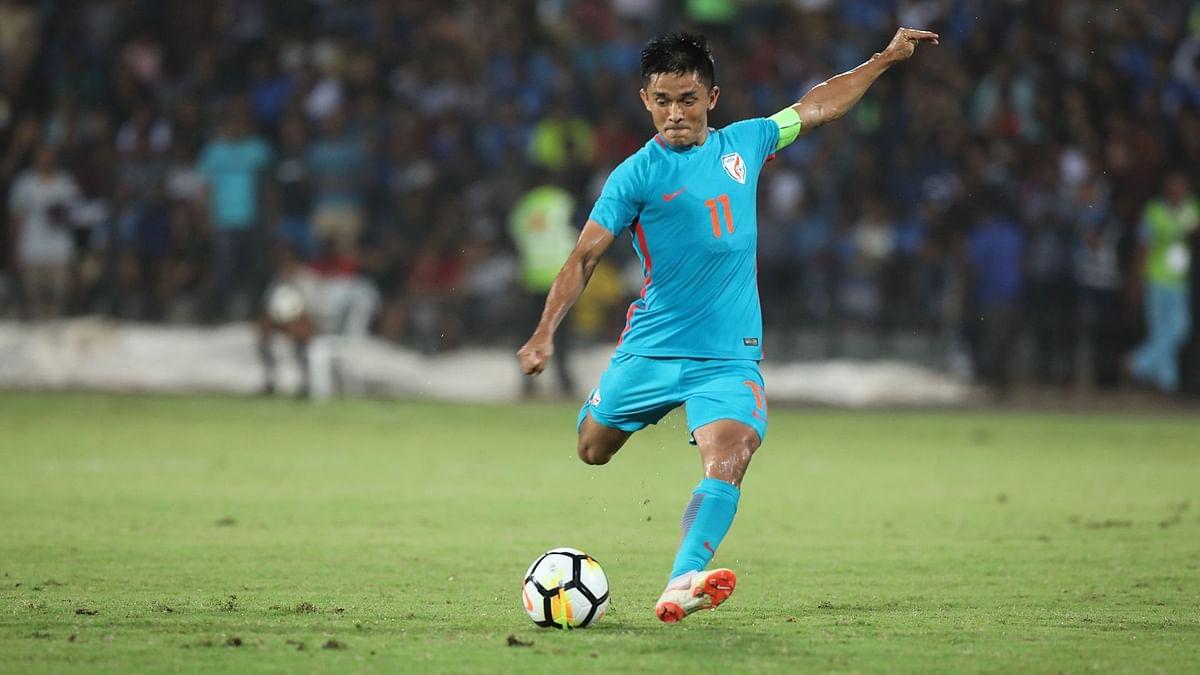 Just Happy That I Can Score Goals for India: Sunil Chhetri