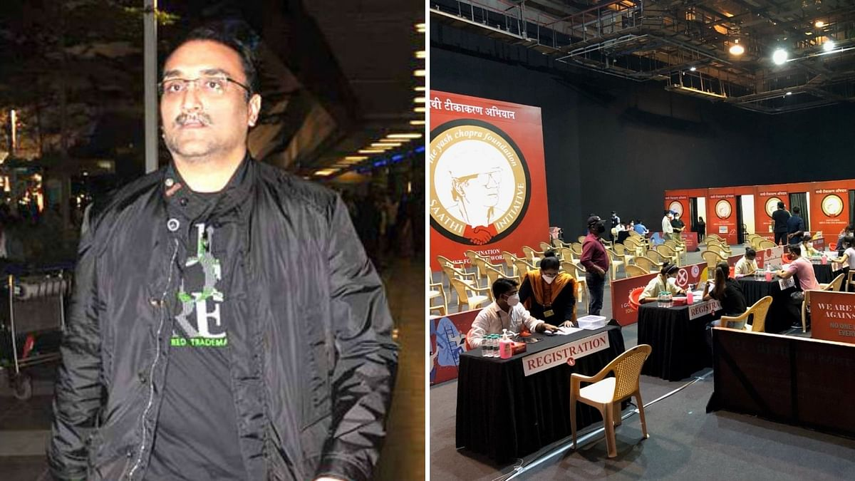 """<div class=""""paragraphs""""><p>Aditya Chopra has started a vaccination drive for members of the film industry.</p></div>"""
