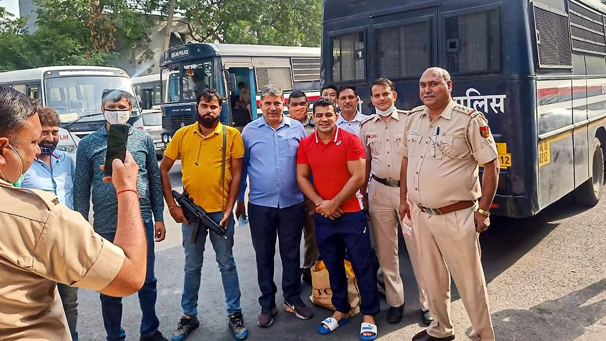 Delhi Police's Photo Op With Sushil Kumar Sparks Uproar