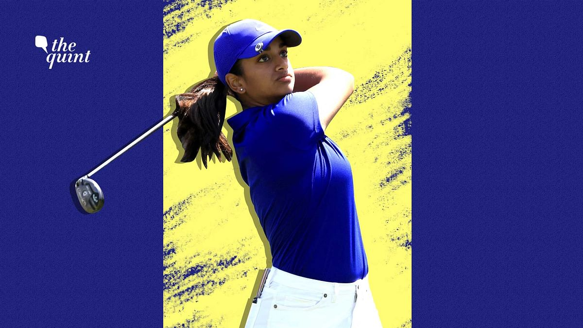 Megha Ganne became the first amateur after Jane Park to lead the US Women's Open after the opening round.