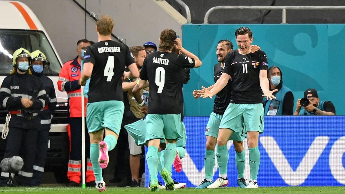 Austria Register 1st Ever Win at Euros; Defeat North Macedonia 3-1
