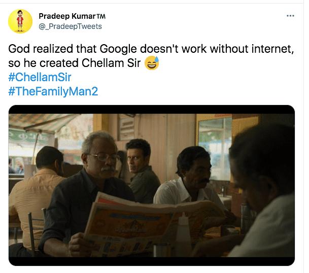 Meet Uday Mahesh AKA Chellam Sir From 'The Family Man 2'