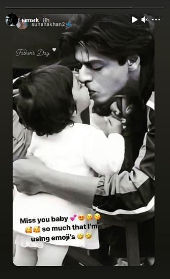 Shah Rukh Has the Perfect Reply to Suhana Khan's Father's Day Wish
