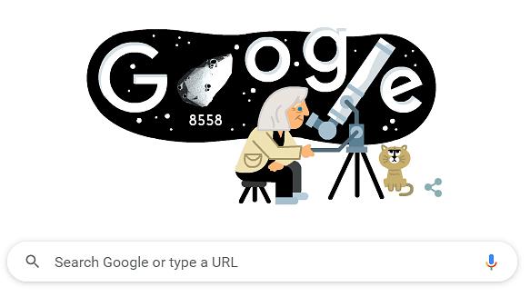 Google Doodle Honours Italian Astrophysicist Margherita Hack