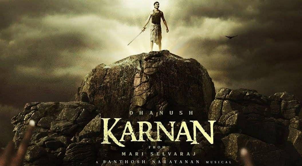 "<div class=""paragraphs""><p>Dhanush on the poster of&nbsp;<em>Karnan.</em></p></div>"