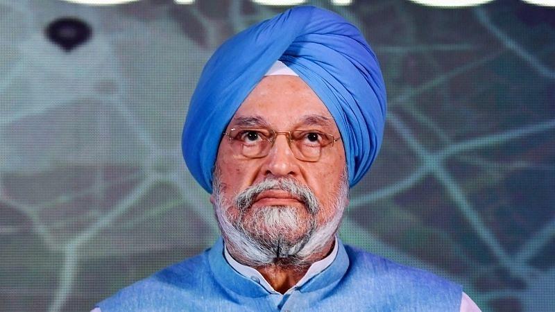 File image of Civil Aviation Minister Hardeep Singh Puri.