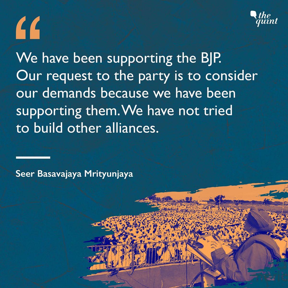 Yediyurappa's Lingayat Fort Jolted: Panchamasali Seer Goes Hostile