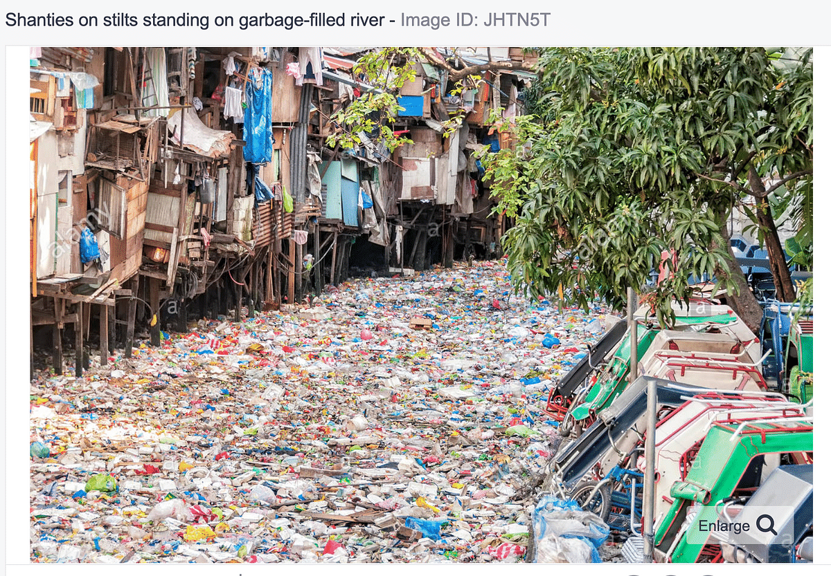 Old Photo From Philippines Passed Off as Mumbai's Mithi River