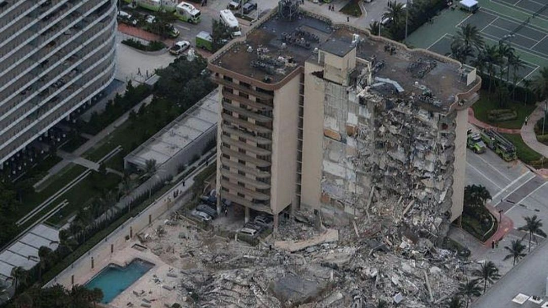 One Dead, 99 Unaccounted For After Building Collapses in Florida