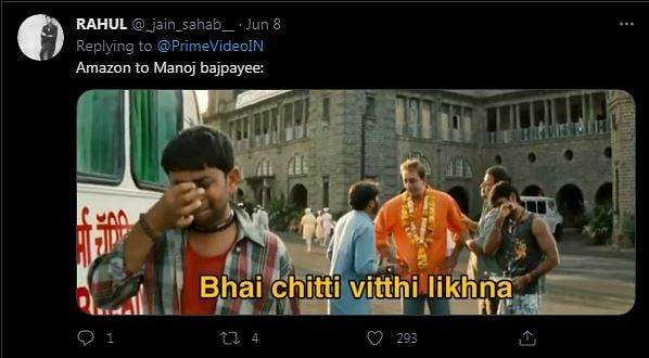 Netflix & Amazon Prime's Twitter Chat Has Manoj Bajpayee in Splits