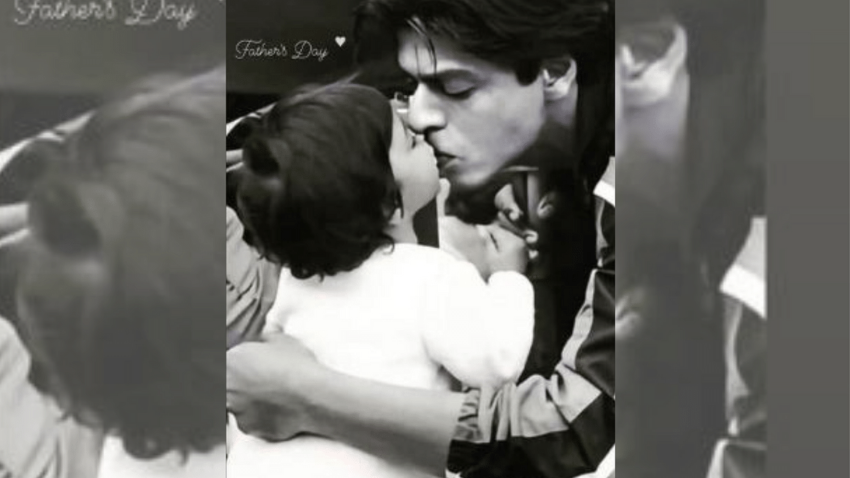 """<div class=""""paragraphs""""><p>Suhana Khan's Father's Day wish for Shah Rukh Khan</p></div>"""